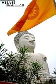 Sitting Buddha in Phuket, Thailand